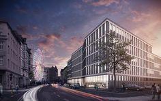 Finanzamt Halle Saale HPP Hentrich - Petschnigg & Partner Leipzig 2014 #civic #office http://rdt.ac/e876
