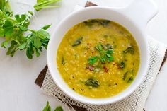 Indian lentil soup with fenugreek. Lucky for my my indian grocery store knows me very well and can give hints on how to's