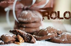 Rolo Cookies!  Only 4 ingredients needed and they taste AMAZING!