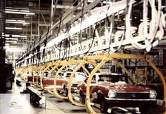 1971? Ford Maverick assembly line
