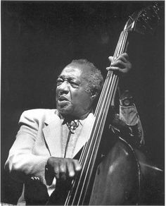 """oberlinconservatory: """"We're ready to channel this guy for our Milt Hinton Institute for Studio Bass next week. """""""