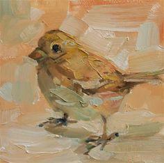 """Goldbird"" - Original Fine Art for Sale - © Brande Arno"