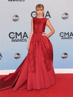 Taylor Swift wearing Elie Saab