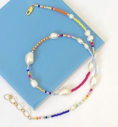 Beaded Necklace, Beaded Bracelets, Gull, Jewelry, Fashion, Metal, Beaded Collar, Jewlery, Moda