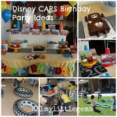 Disney Car's Birthday DIY Ideas