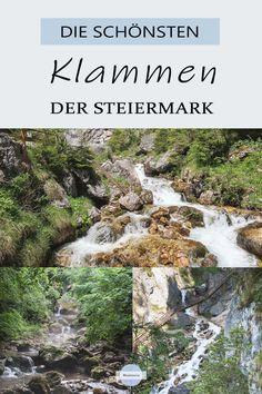 Eine Klamm ist besonders im Sommer eine kühle Erfrischung! Die Steiermark ist voll von schönen Klammen, die erwandert werden wollen #klamm #klammen #steiermark #ramsau #riesach #bärenschützklamm #silberkarklamm #kesselfallklamm #rettenbachklamm #graz #heiligengeistklamm #wörschachklamm #ausflüge #reisetipps Reisen In Europa, Travel Companies, Austria, Travel Inspiration, Travel Destinations, Wanderlust, Around The Worlds, Hiking, Europe