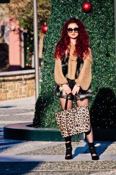 Lookbook Store camel cowl neck sweater styled by Rania Kelesidou. #LBSDaily | Lookbook Store OOTD