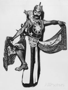 Javanese Male Dancer Photographic Print at AllPosters.com