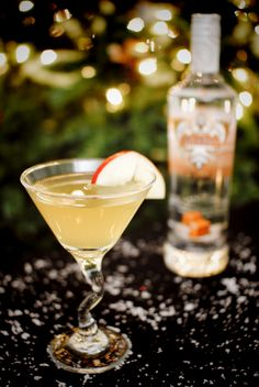 Kissed Carmel Appletini drink recipe:   2 oz SMIRNOFF® Kissed Caramel™ Flavored Vodka,1.5 oz apple juice, 0.25 oz lemon juice, 0.25 oz simple syrup. Shake all ingredients and strain into martini glass. Just made these last night -SO delicious!