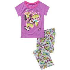Teenage Mutant Ninja Licensed Girls Sleepwear, Purple