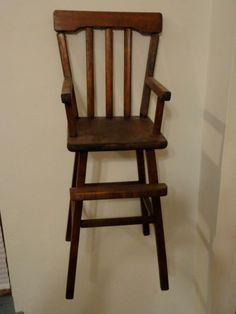 Doll High Chair -- Hidden Gem Furniture