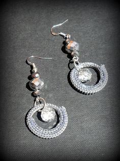 zip earrings