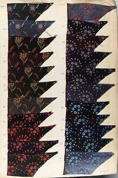 Textile Sample Book Fabrique de Registres Date: 1890s Culture: French Met Museum