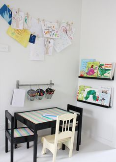 kids craft space
