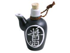 Black Alloy Soy Sauce Dispenser