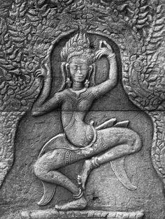 Apsara, Angkor Wat, Siem Reap, Cambodia. Ankor Wat Cambodia, Angkor Wat, Laos, Asian Sculptures, Khmer Empire, Ancient Mysteries, Siem Reap, God Pictures, Ancient Architecture
