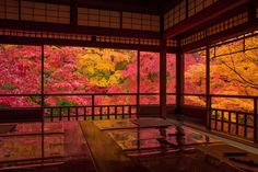 Photo of 瑠璃光院 Fall of Japan in Sakyō-ku, kyōto-fu, Japan