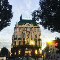 Ad/ Luxury Hotel Moskva in Belgrade #SparklingInBelgrade @serbiatourism