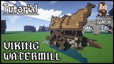 (Danish) Minecraft Tutorial | Viking Watermill v2