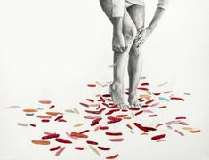 Per-based artist Ana Teresa Barboza uses yarn, thread, wool, and fabric to produce unique, tactile embroidery works. The artist has no boundaries to the Collages, Collage Art, Photomontage, Teresa, Caricatures, Embroidery Works, Contemporary Embroidery, Art Textile, Art Plastique