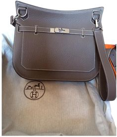 Hermes Taupe Jypsiere on shopstyle.co.uk