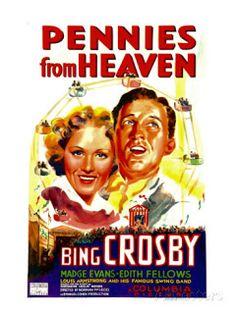 projetor antigo: Dinheiro do Céu 1936 Leg avi  1936, Bing Crosby, Comédia/Musical, Donald Meek, Legendado, Louis Armstrong, Madge Evans, Norman Z. McLeod, Nydia Westman
