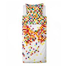 "possibly for ""LEGO"" theme bedding   FLYGA Duvet cover and pillowcase(s) - IKEA"