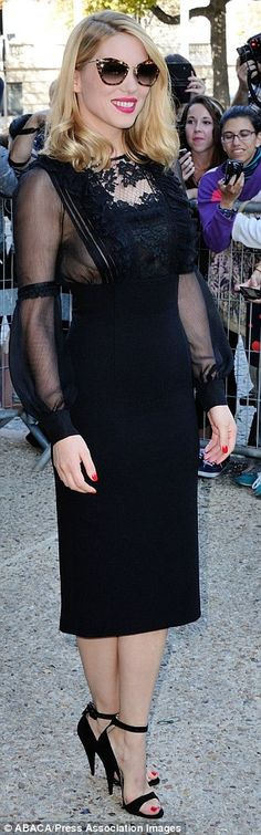 French actress Lea Seydoux, the next Bond girl in the new 007 adventure.  (October 2014)