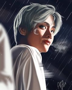 thyng ☾ 【Omegaverse】 - Iyorum I wish a wife to feed me with eternal love. ❞ Whisper, att… the # Fan Fan Fi - Bts Taehyung, Taehyung Fanart, Jimin Fanart, Kpop Fanart, Bts Bangtan Boy, Bts Wallpaper Backgrounds, V Bts Wallpaper, Wallpapers, Daegu