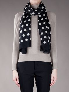 Marc by Marc Jacobs Polka Dot Scarf