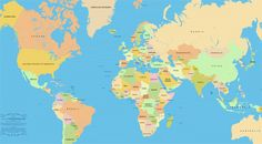 59 best y13m03 images on Pinterest | Accurate world map, America ...