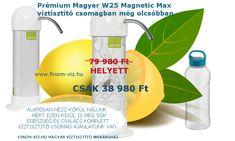 Lefogytak kis időre az árak, megpakoljuk csomagodat, ennyiért most küldhetjük, - még időben vagy - ? Csak nehogy lemaradj.  Most már csak rajtad múlik, hogy most rendelsz mindig finom egészséges ivóvizet előállító Magyar víztisztító(ka)t 2 év biztonságos járulékos költség mentes használattal vagy később többért. Magyar víztisztító gyártmány. 2004 óta Magyarország legnépszerűbb háztartási víztisztítói több mint 53 000 ember nem tévedhetett. Hagyd ki a kiskereskedelmet, rendelj sokkal… Soap, Personal Care, Bottle, Self Care, Personal Hygiene, Flask, Bar Soap, Soaps, Jars