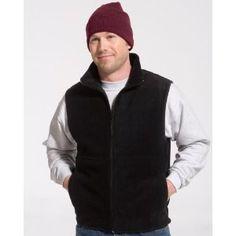 Port & Company Men's Durable Full-Zip Fleece Vest, Navy, Medium (Apparel)  http://www.amazon.com/dp/B0036SL3B8/?tag=goandtalk-20  B0036SL3B8