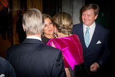 Dutch Royals and Belgian Royals Attend EU Opening Concert