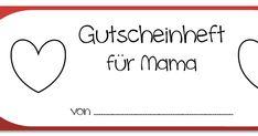 Meine Kollegin Carina hatte die Idee, ein Gutscheinheft als Muttertagsgeschenk zu erstellen. Ich habe die Idee umgesetzt: Jeweils vier...