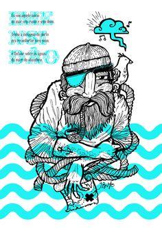 Imensidão by Johnny Brito, via Behance