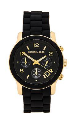 Michael Kors #black Runway Watch http://rstyle.me/n/h93tdr9te
