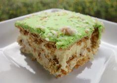 Key Lime Coconut Eclair Cake