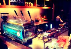 Blue Bottle Coffee Co. in Williamsburg, Brooklyn.