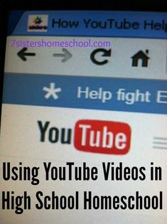 Here are simple tips for enriching learning by using YouTube videos in high school homeschool. Practical help from 20+year veteran homeschool moms.