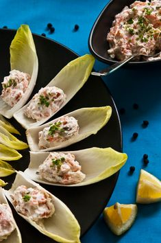 Home cured salmon spread and endive from Beyond [the Plate].
