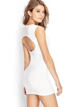 Cutout Bodycon Dress | FOREVER21 - 2000069724