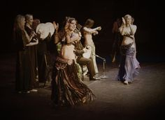 Moria Chappell during a Bellydance Superstars tour in Cleveland, Ohio