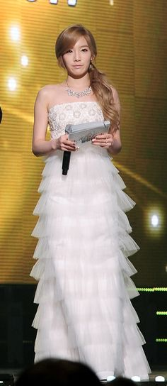 taeyeon gown snsd - Google Search