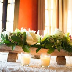 Pierre's Lounge & Restaurant at Morada Bay Log Centerpieces, Table Decorations, Beach Cafe, Fine Dining, Wedding Flowers, Reception, Restaurant, Design, Diy Ideas