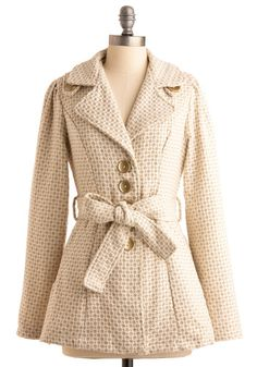 Beyond the Gold Coat from ModCloth