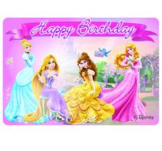 Disney Prinsessat -koristekynttilä