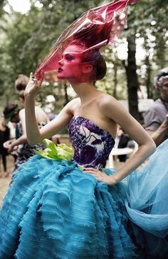 #Jac Jagaciak - Christian Dior Haute Couture  #Fashion #New #Nice #CoutureFashion #2dayslook  www.2dayslook.com