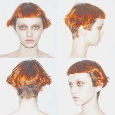 Short Choppy Hair, Short Bob Hairstyles, Hairstyles With Bangs, Cool Hairstyles, Mode Steampunk, Shot Hair Styles, Natural Hair Styles, Long Hair Styles, Edgy Hair