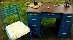 painted desk - Google Search